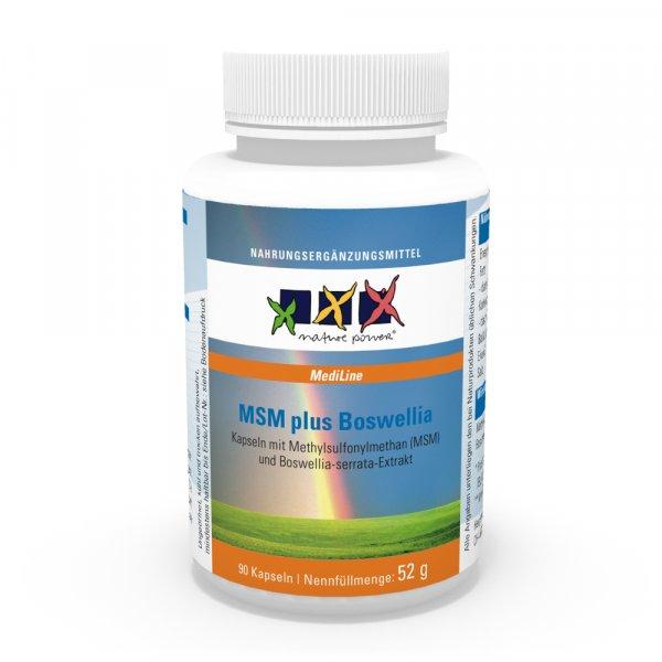 MSM plus Boswellia-Komplex / Schmerzen, Entzündungen