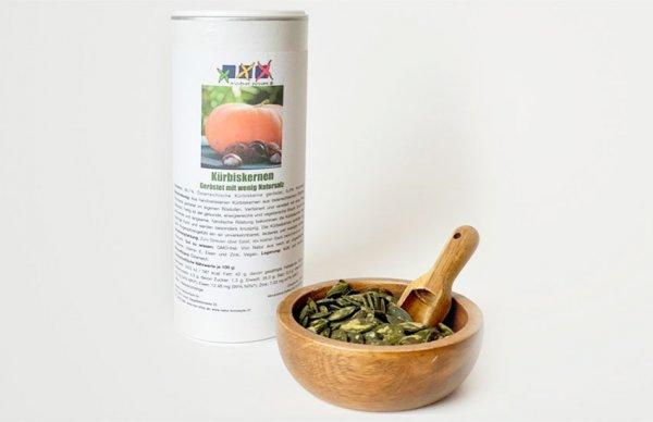 Kürbiskernen, geröstet, leicht gesalzen | zertifizierter Anbau