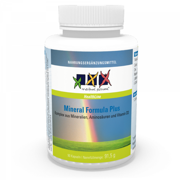 Mineral Formula Plus / Nerven, Hirn, Blut, Herz, Knochen