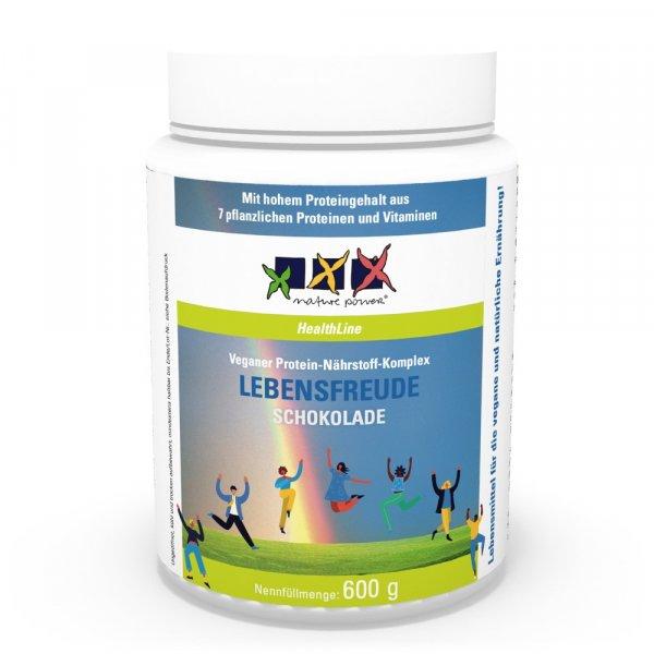 LEBENSFREUDE Schoko, Protein-Nährstoff-Pulver, vegan