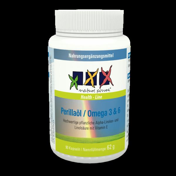Perillaöl-Omega 3+6 / Konzentration, Blutgefässe, Psyche