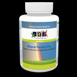 Mineral Formula mit Aminosäuren für Nerven, Hirn, Blut, Herz, Skelett