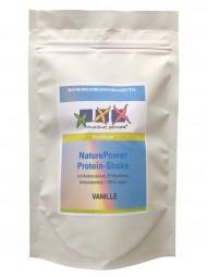 Protein-Shake vegan, VANILLE_4 Port_für unterwegs